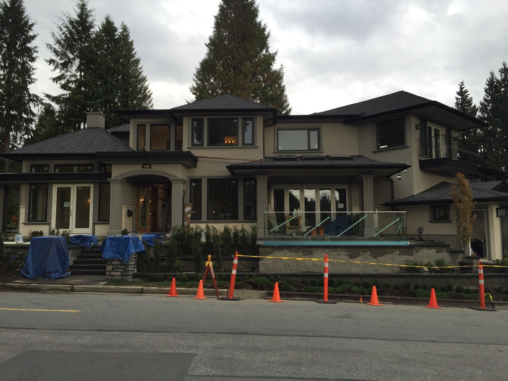 Sunset Blvd. West Vancouver Acrylic Stucco