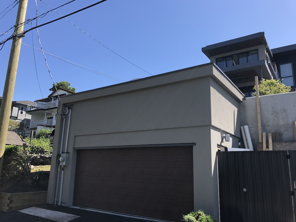 Acrylic Stucco Modern House Capital Hill Burnaby